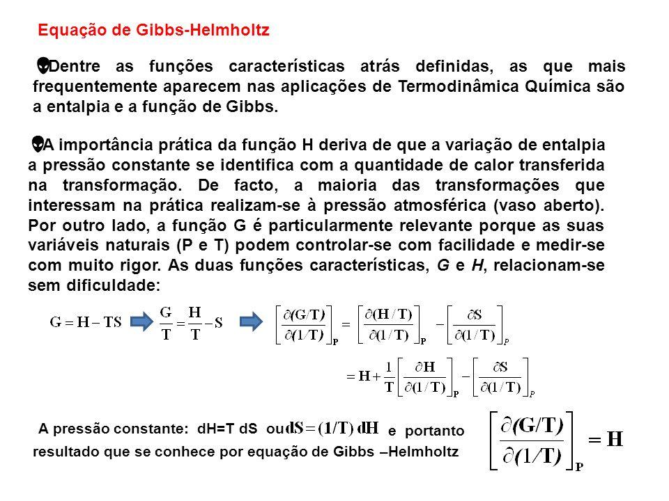 Equação de Gibbs-Helmholtz