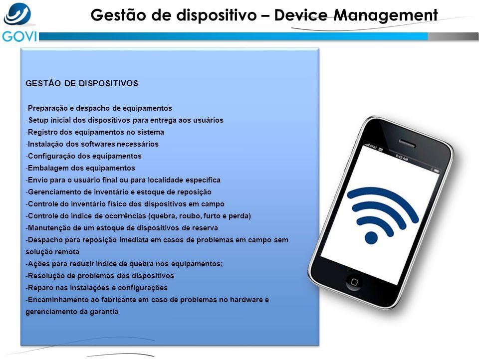 Gestão de dispositivo – Device Management
