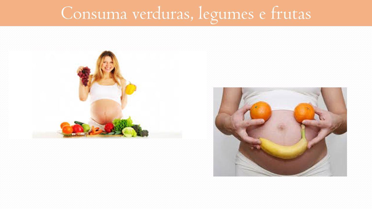 Consuma verduras, legumes e frutas