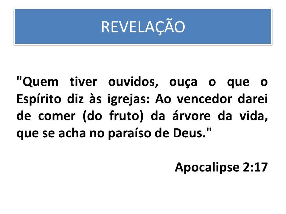 REVELAÇÃO