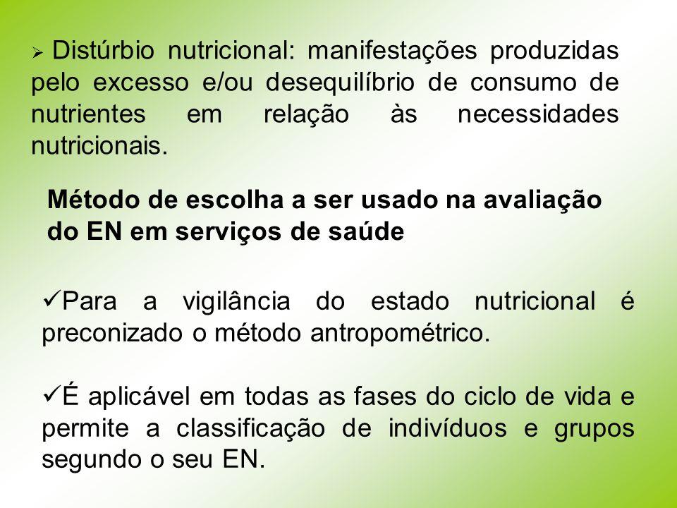 Método de escolha a ser usado na avaliação do EN em serviços de saúde