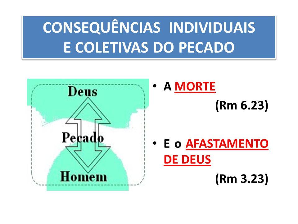 CONSEQUÊNCIAS INDIVIDUAIS