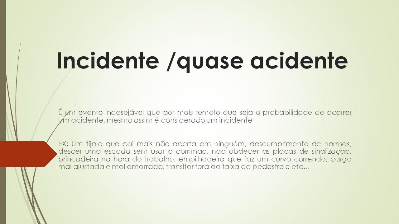 Incidente /quase acidente