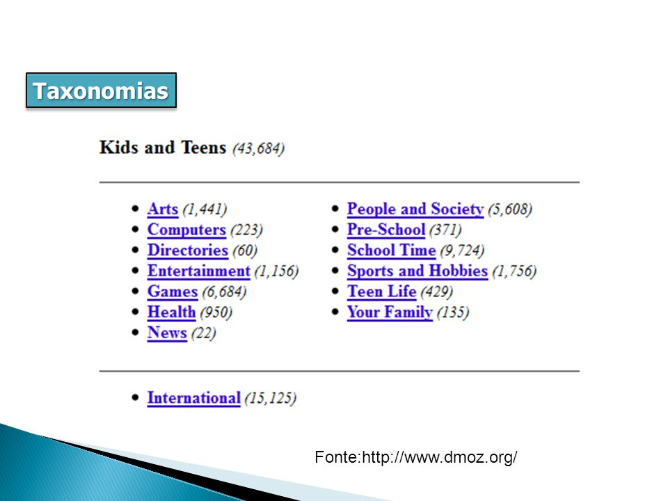 Taxonomias hierárquica, pai-filho , hipônimo, genérica, especialização