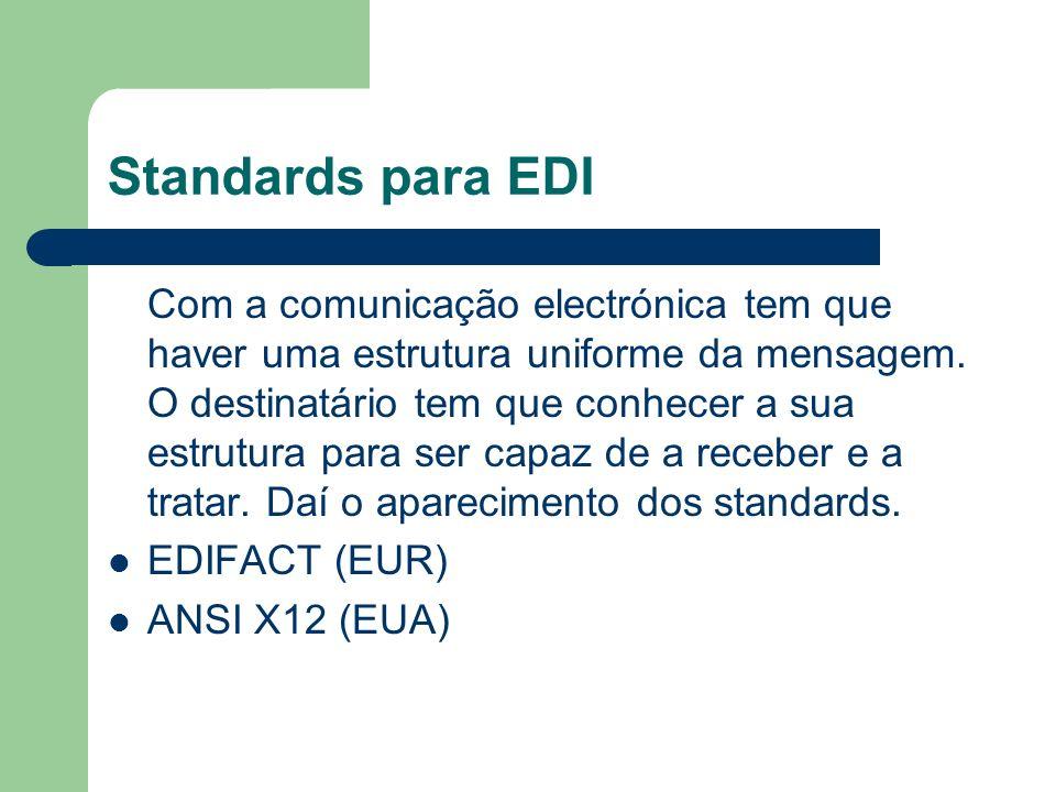 Standards para EDI