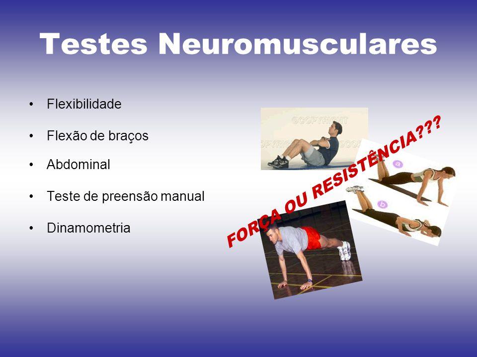 Testes Neuromusculares