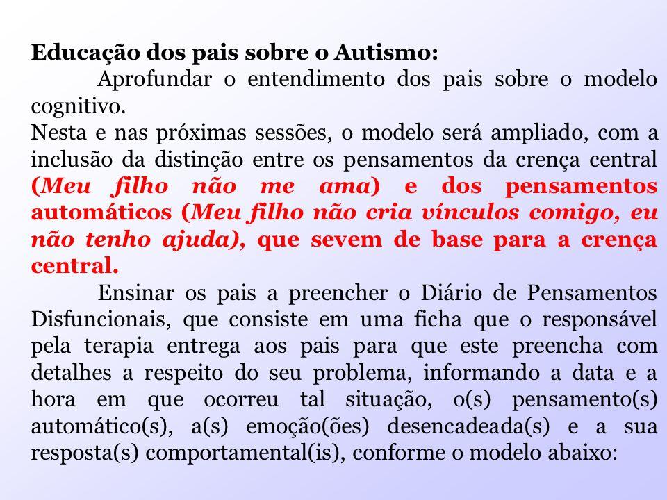 Educação dos pais sobre o Autismo: