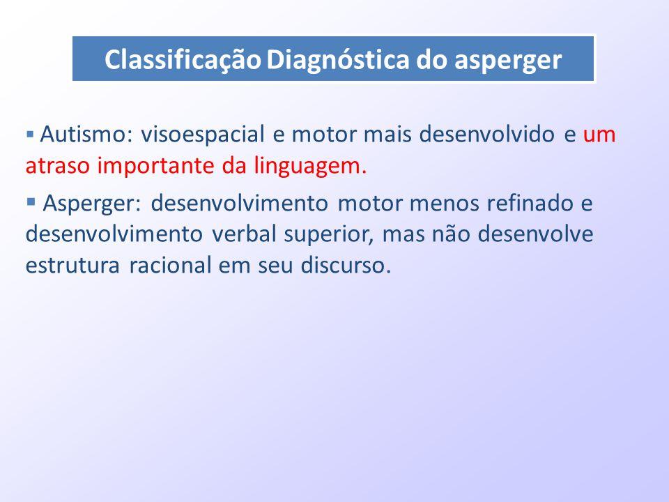 Classificação Diagnóstica do asperger