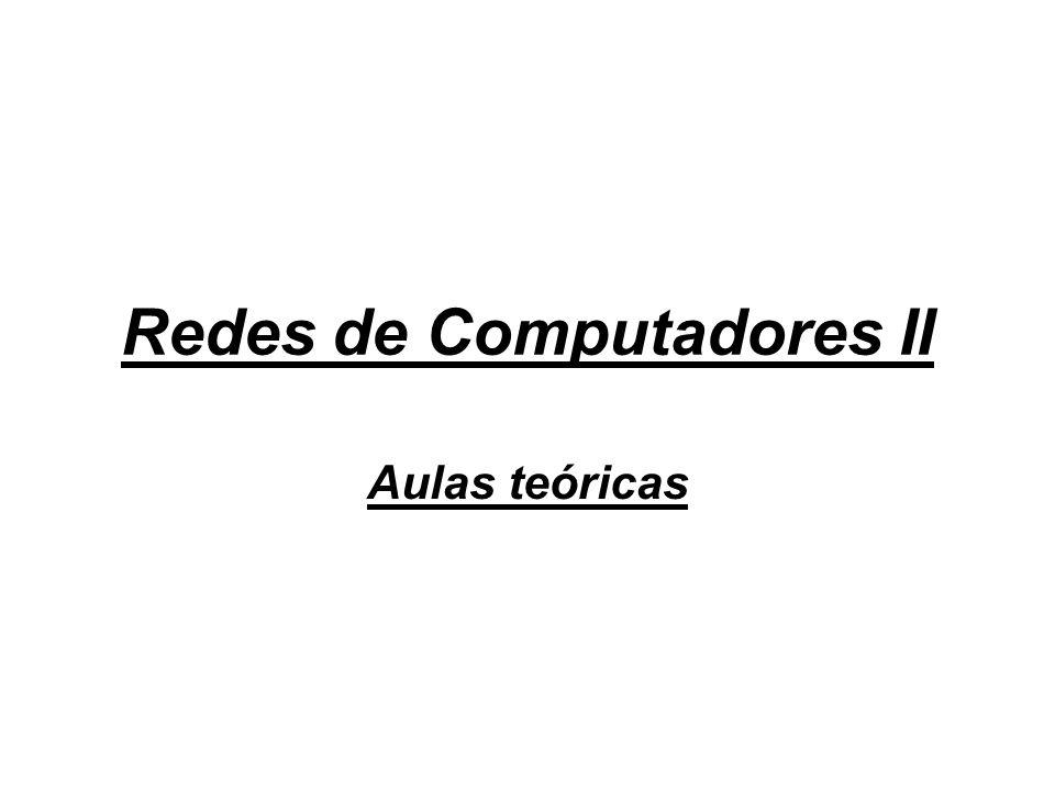Redes de Computadores II