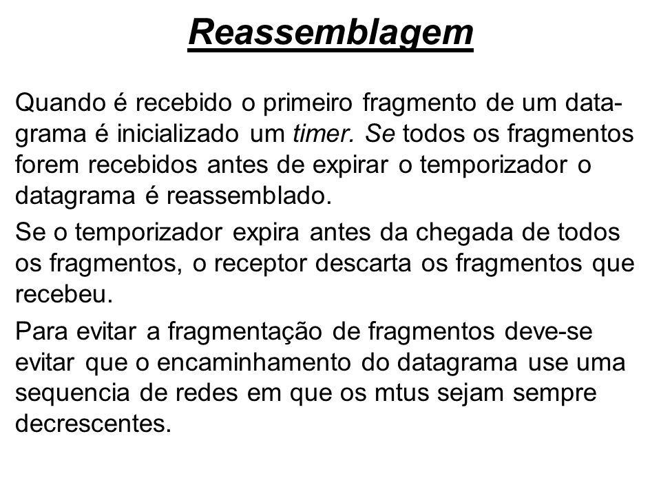 Reassemblagem
