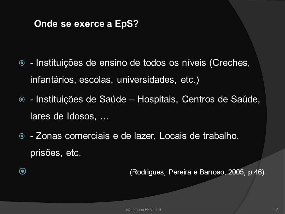 (Rodrigues, Pereira e Barroso, 2005, p.46)