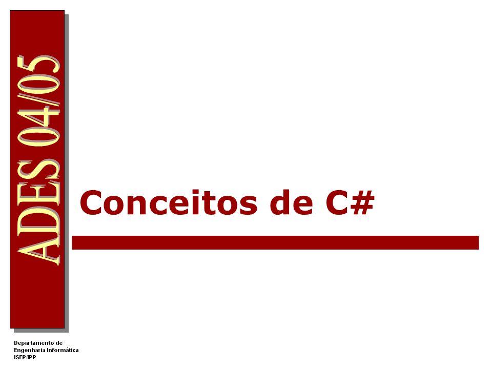 Conceitos de C# .Net Apprentice