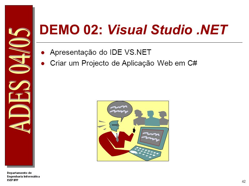 DEMO 02: Visual Studio .NET