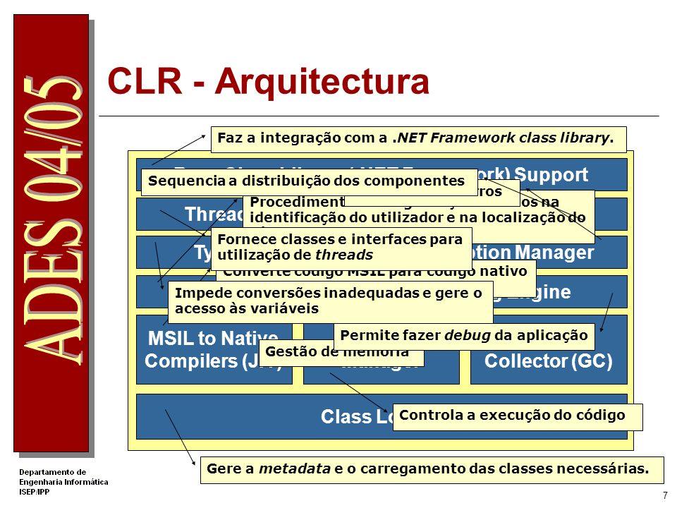 Base Class Library (.NET Framework) Support