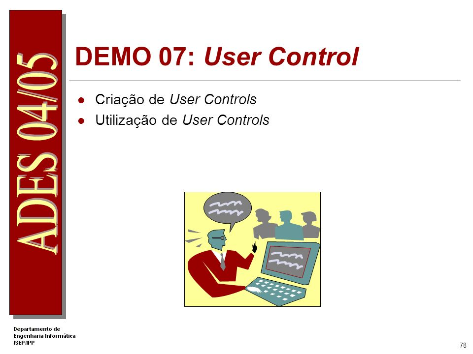 DEMO 07: User Control Criação de User Controls