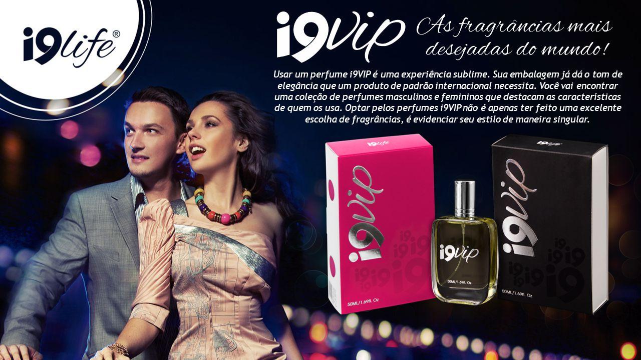 Usar um perfume i9VIP é uma experiência sublime