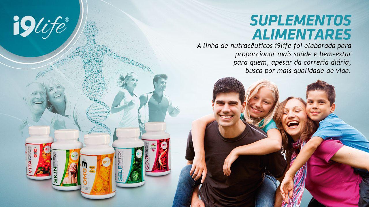 A linha de nutracêuticos i9life foi elaborada para proporcionar mais saúde e bem-estar