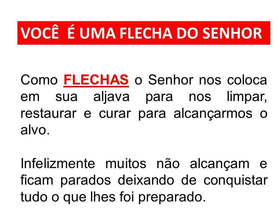 VOCÊ É UMA FLECHA DO SENHOR