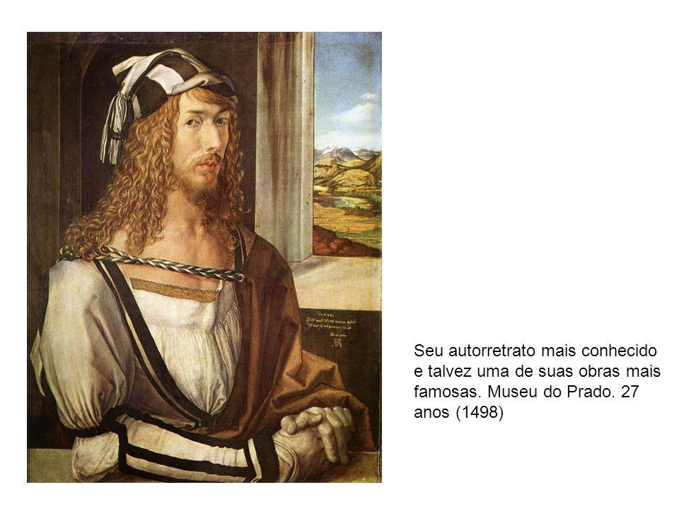 Seu autorretrato mais conhecido e talvez uma de suas obras mais famosas.