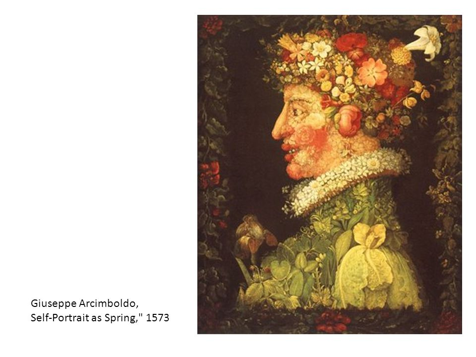 Giuseppe Arcimboldo, Self-Portrait as Spring, 1573