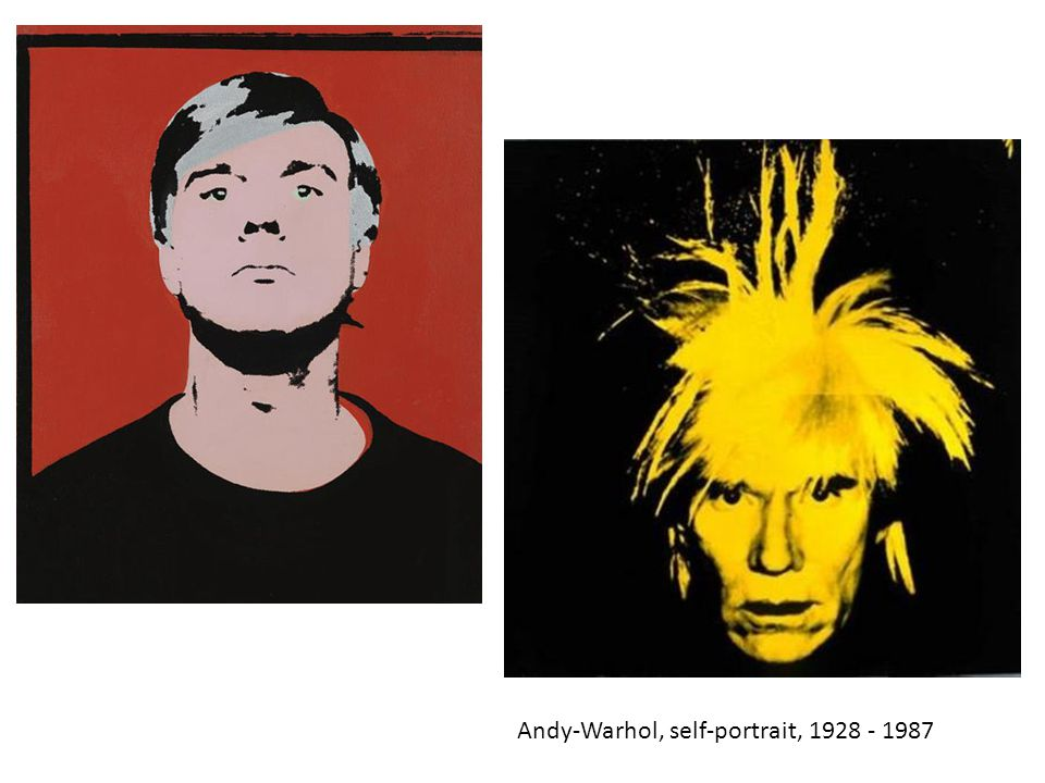 Andy-Warhol, self-portrait, 1928 - 1987