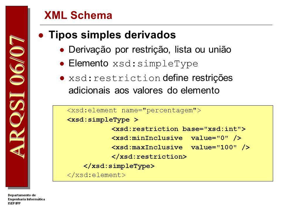 Tipos simples derivados