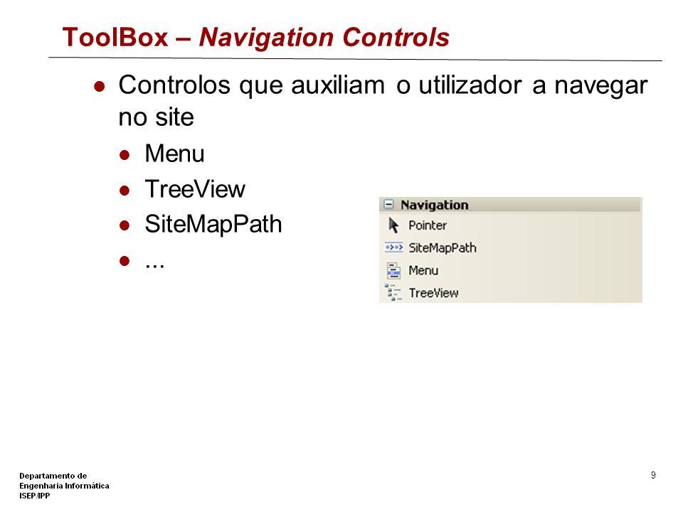 ToolBox – Navigation Controls