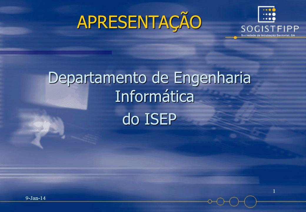Departamento de Engenharia Informática