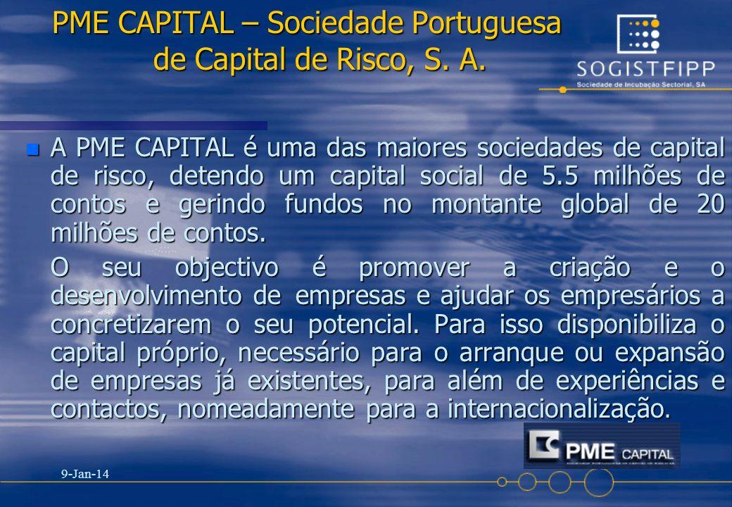 PME CAPITAL – Sociedade Portuguesa de Capital de Risco, S. A.