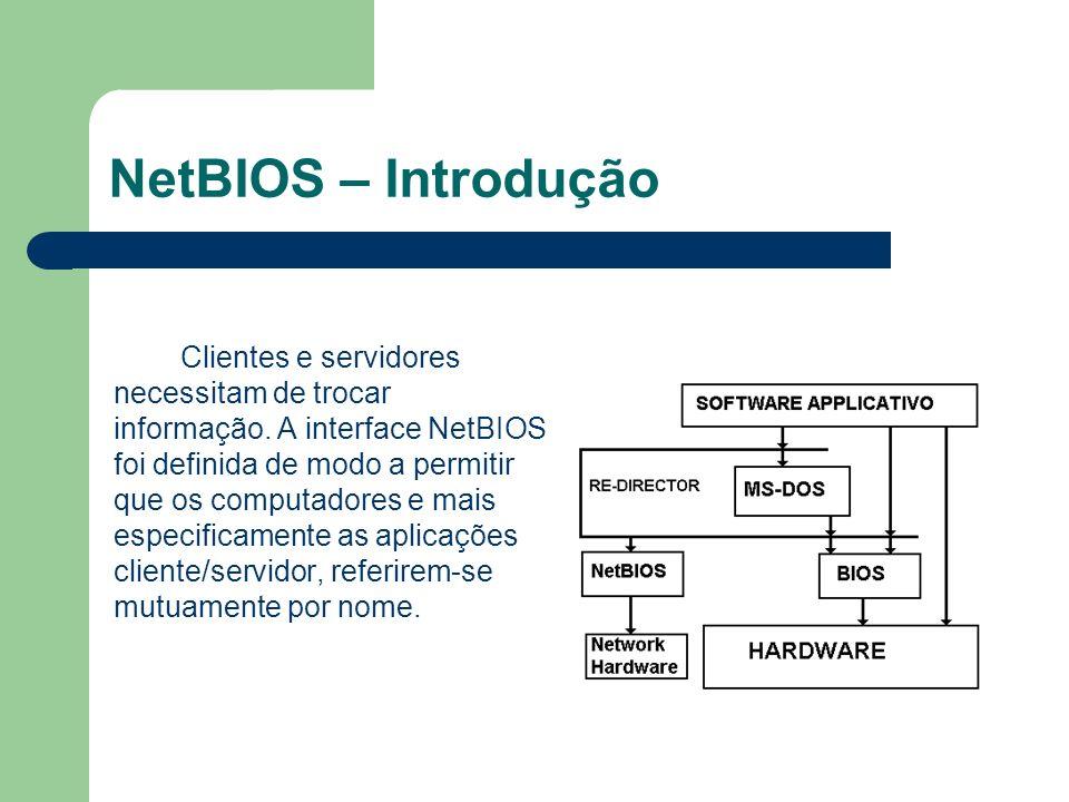 NetBIOS – Introdução