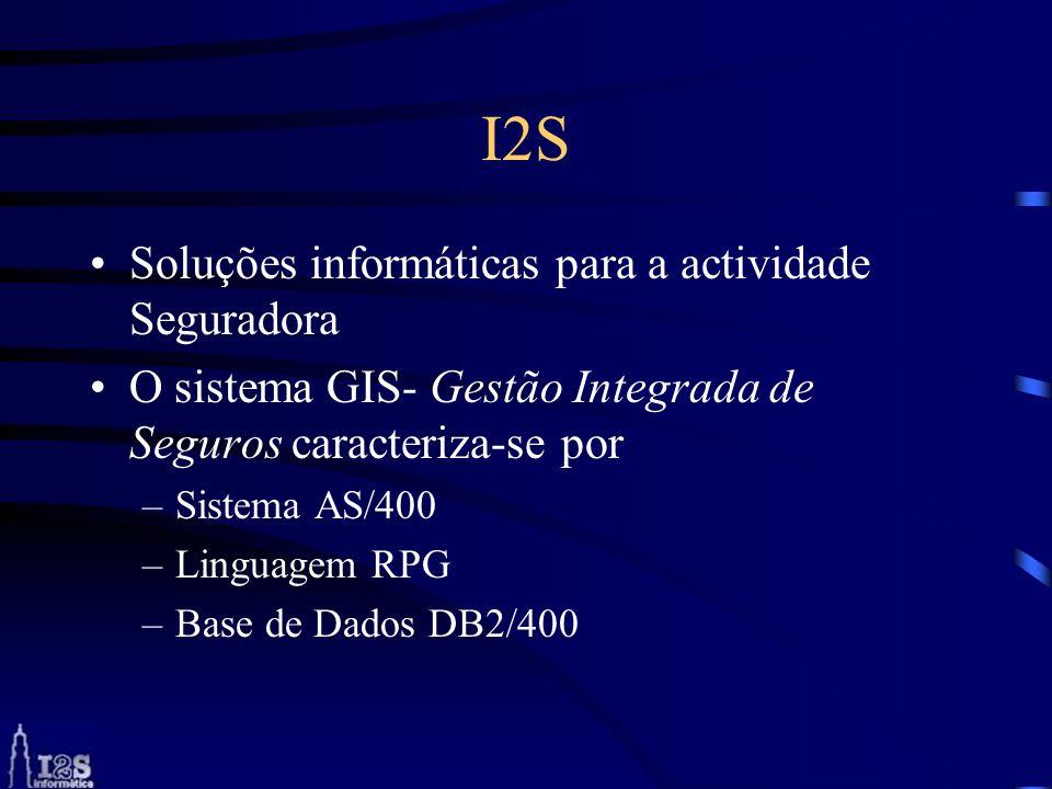 I2S Soluções informáticas para a actividade Seguradora