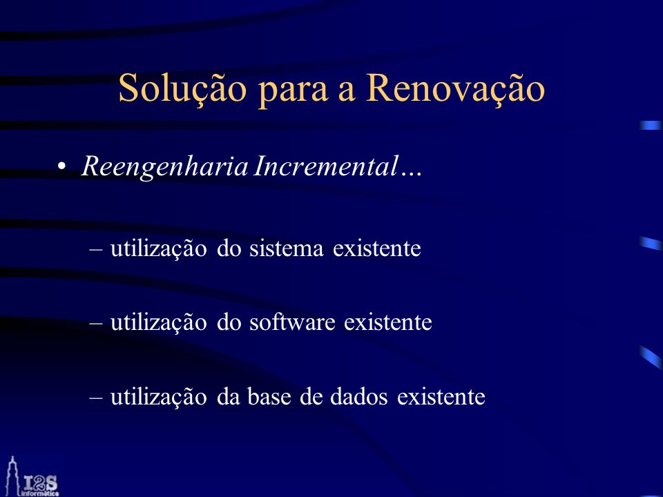 Solução para a Renovação