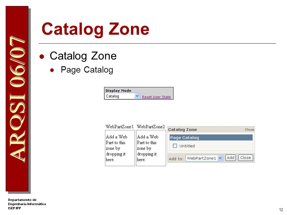 Catalog Zone Catalog Zone Page Catalog