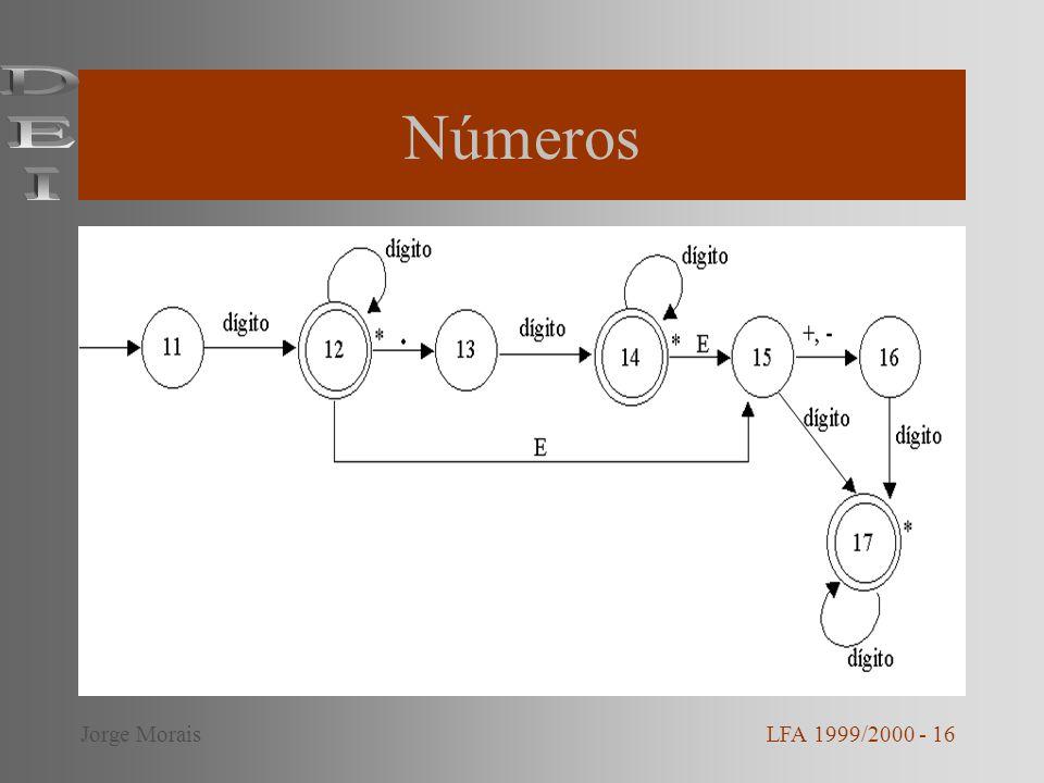 Números DEI Jorge Morais LFA 1999/2000 - 16
