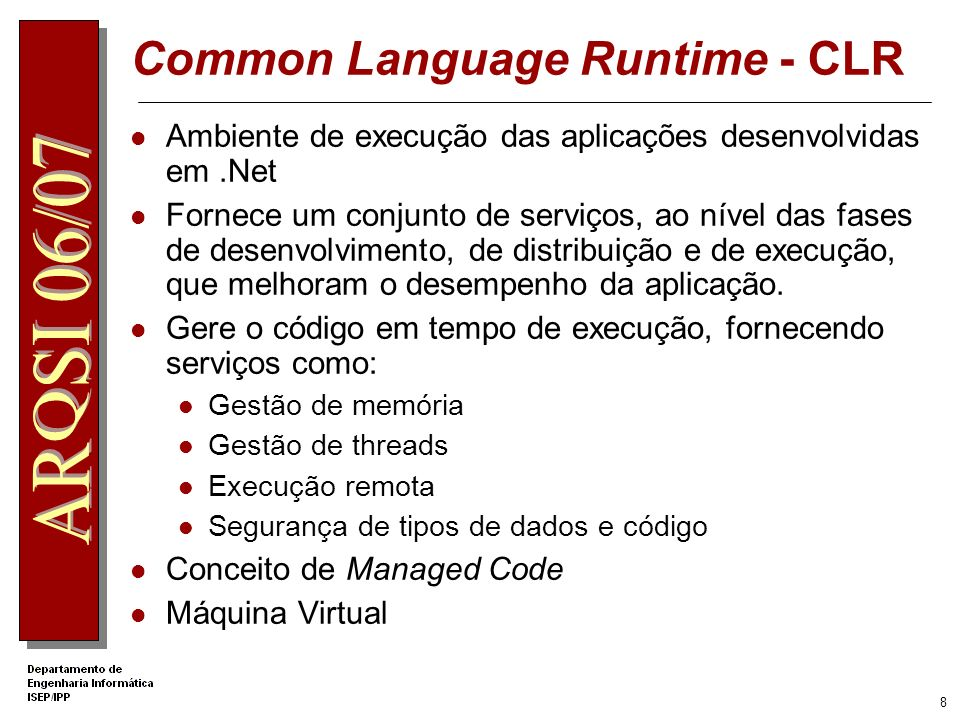 Common Language Runtime - CLR