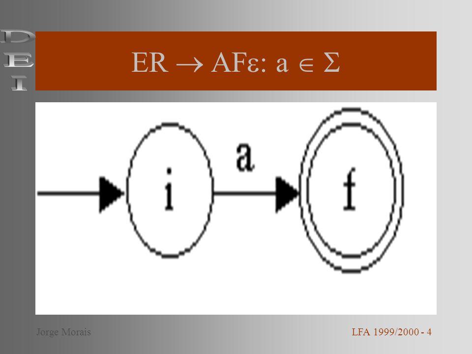 ER  AF: a   DEI Jorge Morais LFA 1999/2000 - 4