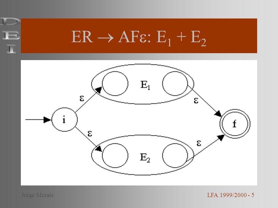 ER  AF: E1 + E2 DEI Jorge Morais LFA 1999/2000 - 5