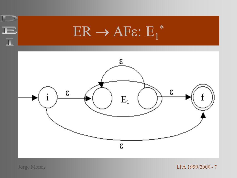 ER  AF: E1* DEI Jorge Morais LFA 1999/2000 - 7