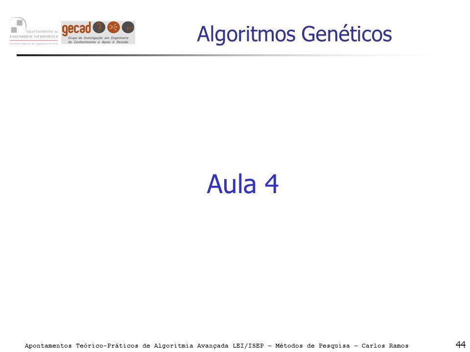 Algoritmos Genéticos Aula 4