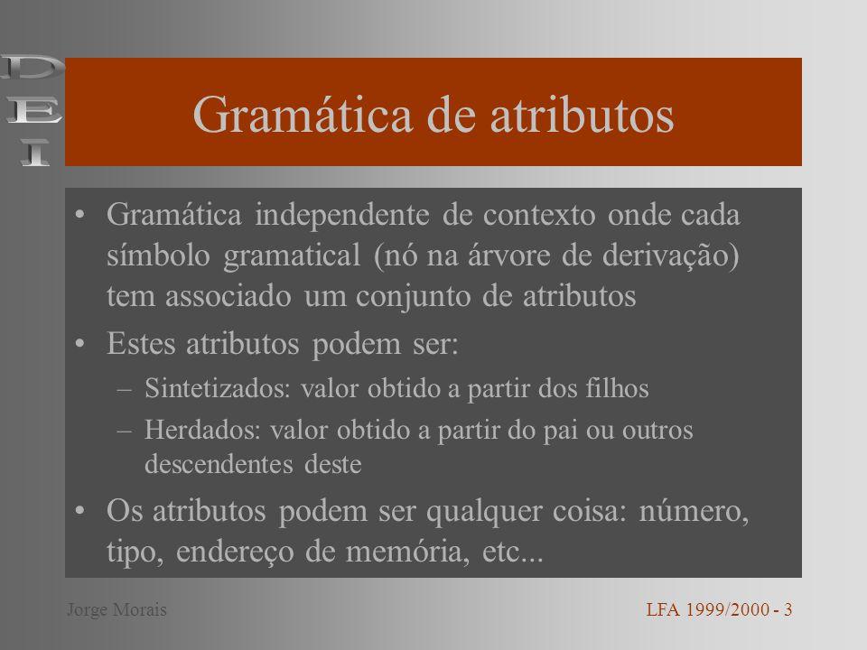 Gramática de atributos