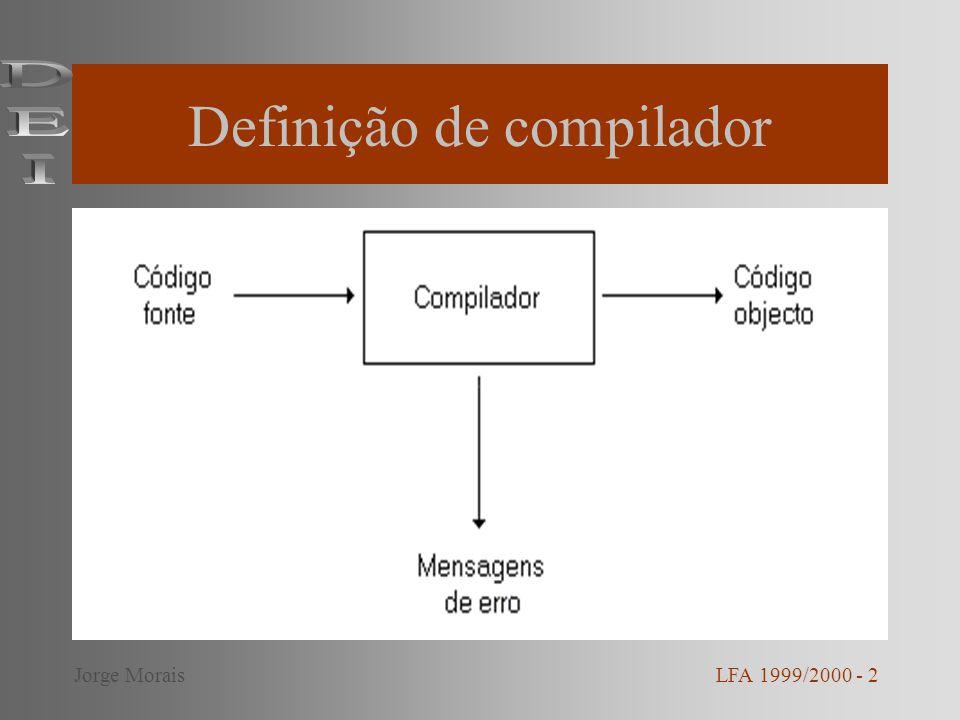Definição de compilador