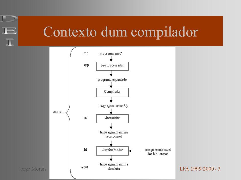 Contexto dum compilador