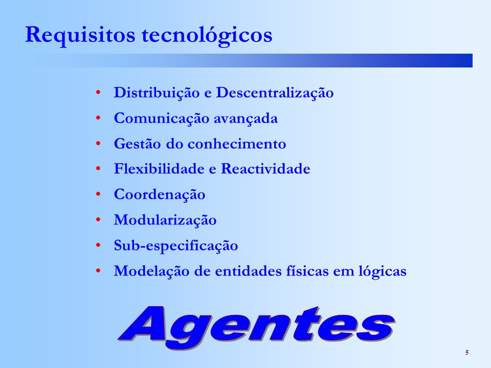 Requisitos tecnológicos