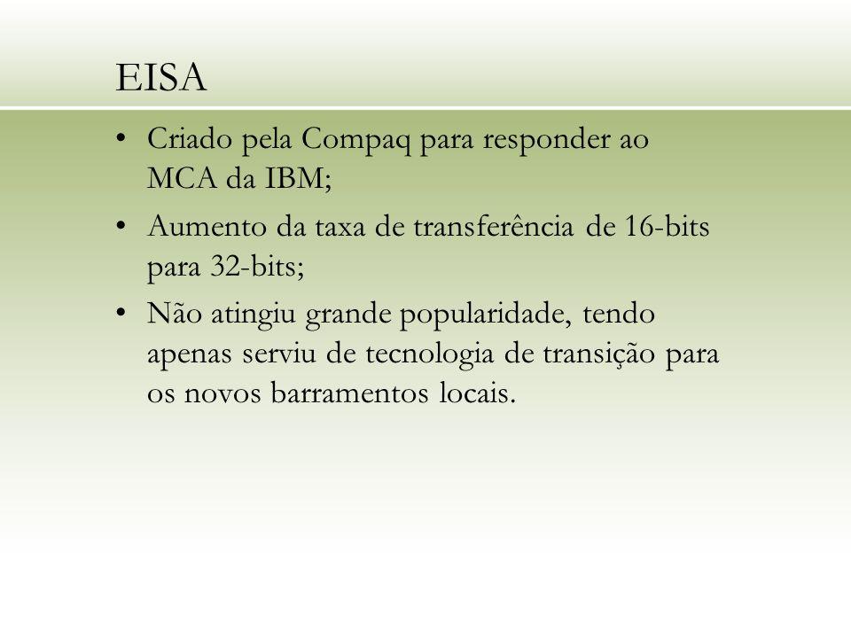 EISA Criado pela Compaq para responder ao MCA da IBM;