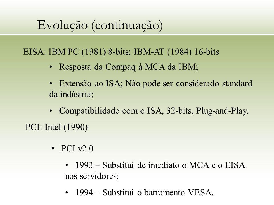 Evolução (continuação)