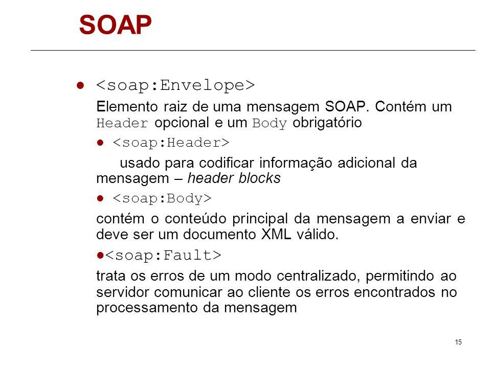 SOAP <soap:Envelope> <soap:Fault>
