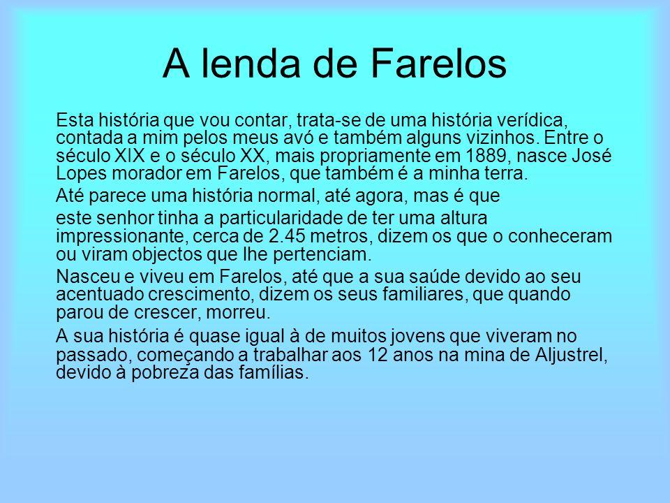 A lenda de Farelos
