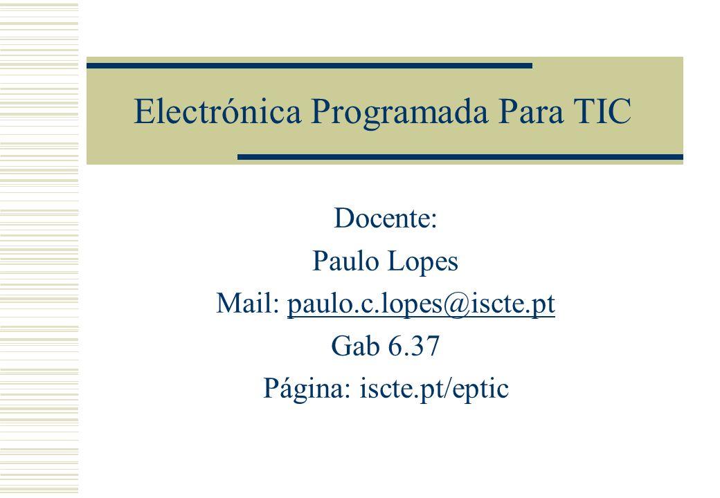 Electrónica Programada Para TIC