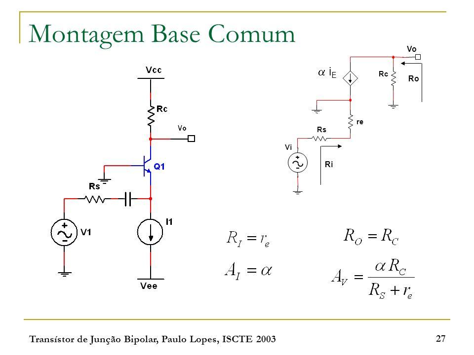 Montagem Base Comum  iE