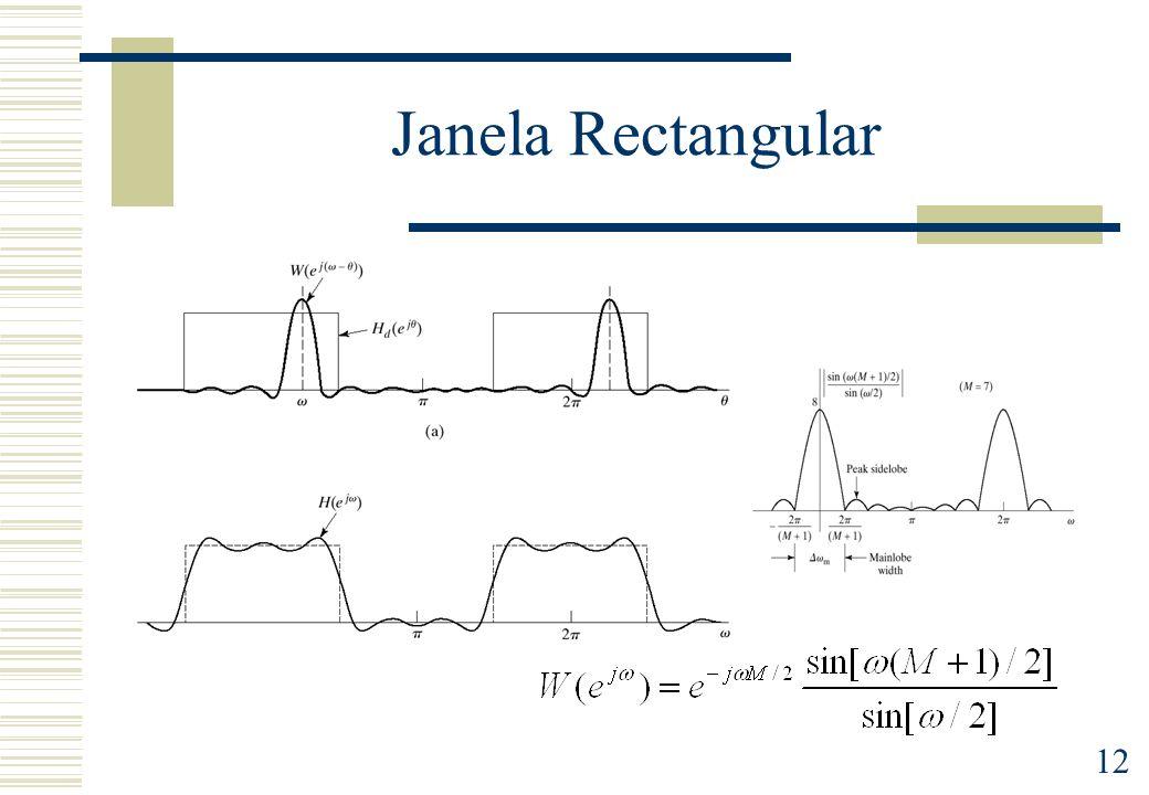 Janela Rectangular